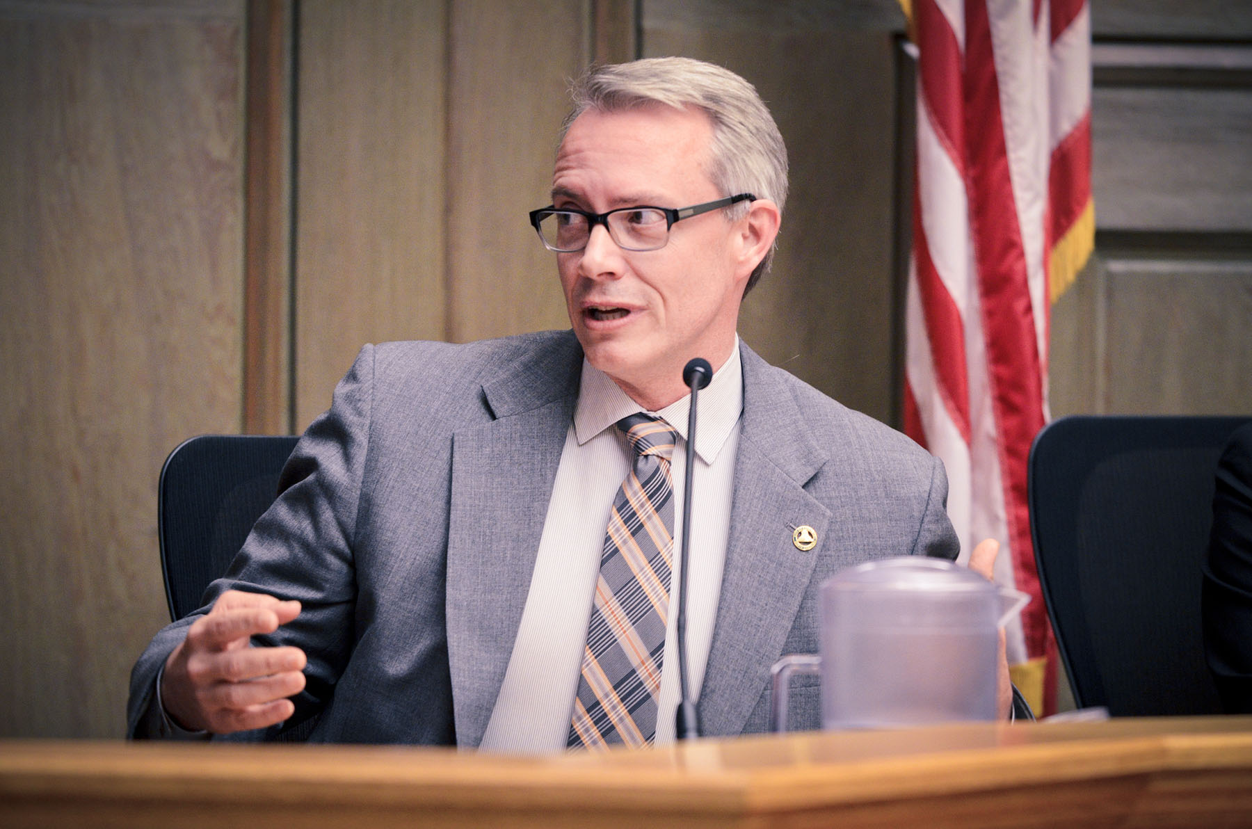 Asheville City Council member Gordon Smith. File photo by Max Cooper.